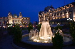 Monte-Carlo.  Scene of International Intrigue and Mystery...